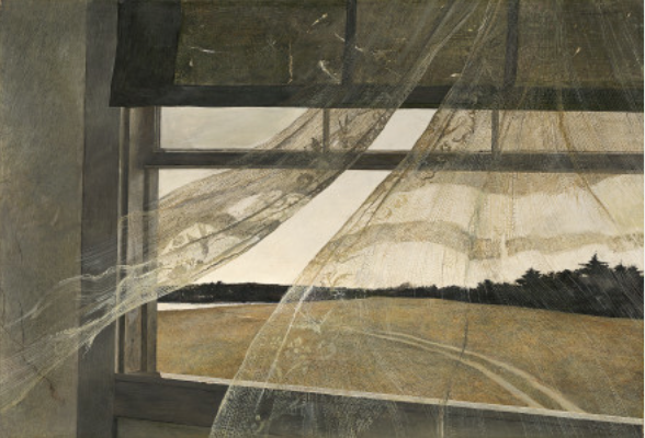 Andrew Wyeth's Wind from the Sea.